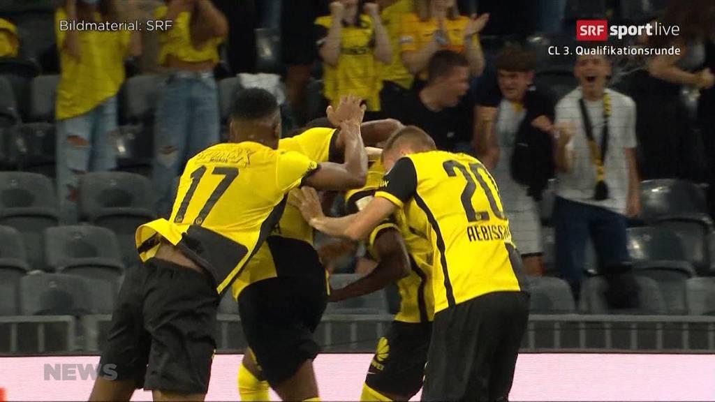 3:1 Sieg gegen CFR Cluj: Berner Young Boys stehen in den Champions-League-Playoffs