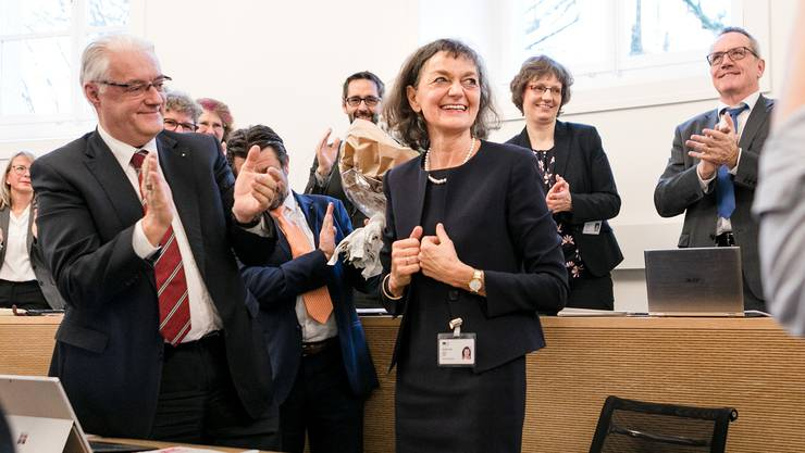 Am Dienstag wurde Edith Saner zur Grossratpräsidentin für das Jahr 2020 gewählt. Das Politjahr wurde damit erfolgreich lanciert.