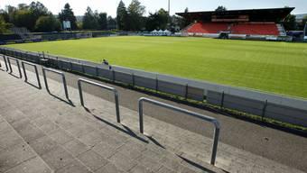 Hier hätte der FC Aarau noch beinahe drei Millionen Franken für eine Rasenheizung investieren sollen. Doch die Liga verlängert die Frist.