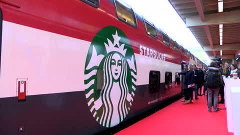 Starbucks jetzt auf Schienen