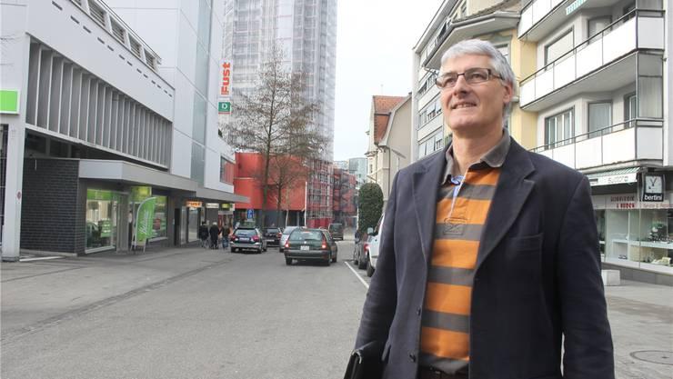Für Konrad Schleiss, Präsident der Bau- und Planungskommission, braucht Grenchen als Wohnstandort mehr Schub.