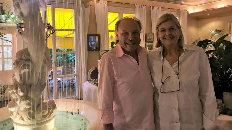 Heinz Witschi und seine Frau Beatrice Stapfer verkaufen nach 33 Jahren Restaurantbetrieb ihr Inventar.