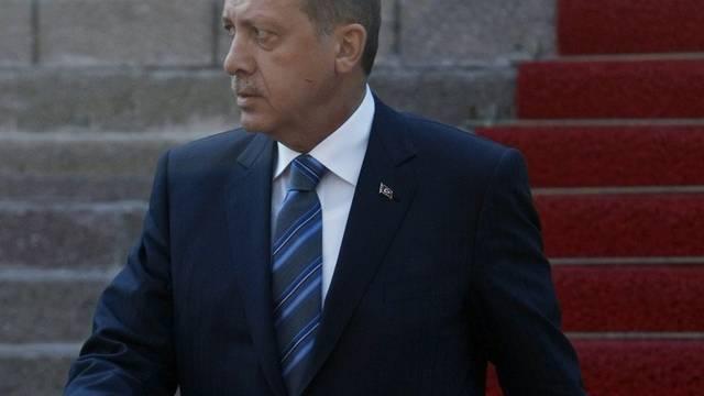 Der türkische Ministerpräsident Erdogan ruft im Konflikt mit Israel den Internationalen Strafgerichtshof in Den Haag an (Archiv)