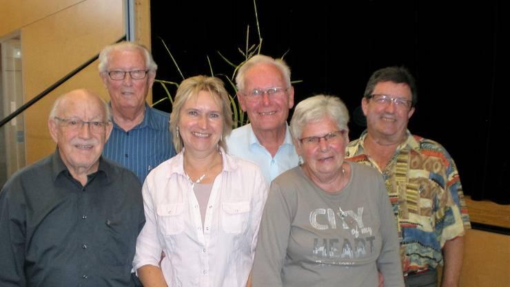 Strahlende Gesichter an der 85. Landsgemeinde der Turnveteranenvereinigung