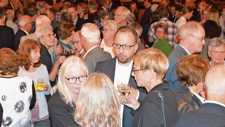 Rund 500 Gäste verbrachten im Rheinfelder Bahnhofssaal einen geselligen Abend.