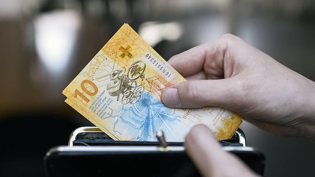 Inflation im März mit -0,2 Prozent weniger negativ