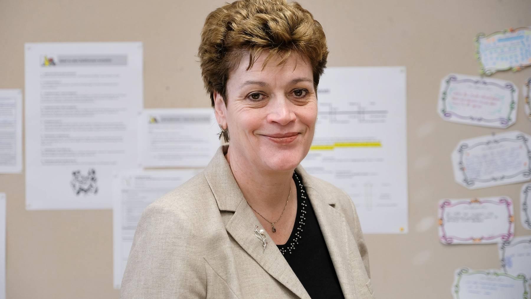Silvia Steiner ist Regierungsratspräsidentin des Kantons Zürich sowie Präsidentin der Schweizerischen Konferenz der kantonalen Erziehungsdirektoren.