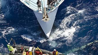 Greeanpeace versucht Fischer aufzuhalten (Archiv)