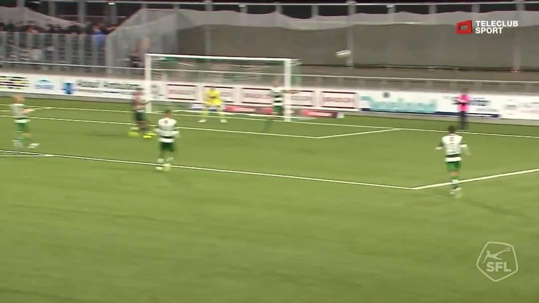 Challenge League 2019/20, 10. Runde: SC Kriens - FC Aarau,  65. Minute