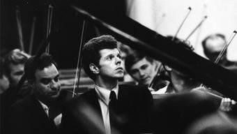 Van Cliburn 1958, als er 23-jährig dank Nikita Chruschtschow in den Pianistenolymp geschossen wurde. ho