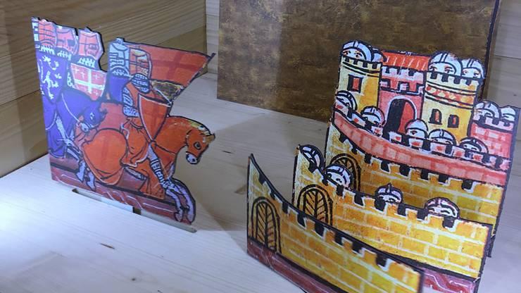 Einblick in die Ausstellung «Der letzte Graf von Lenzburg und das Heilige Römische Reich»