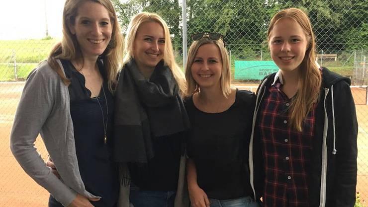Die TCR-Damen freuen sich nach fünf Siegen in Folge über den verdienten Aufstieg in die 1. Liga