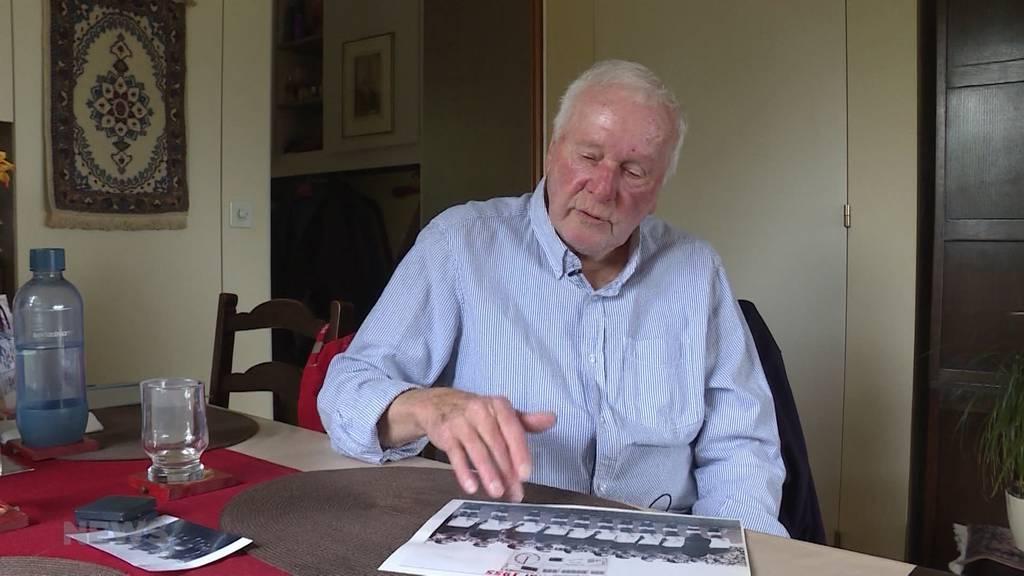 FC Thun: Max Frischkopf blickt auf den ersten Cupfinal 1955 zurück