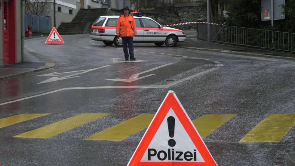 In Chur ist eine 80-jährige Fussgängerin verunfallt und verletzt worden. (Themenbild)