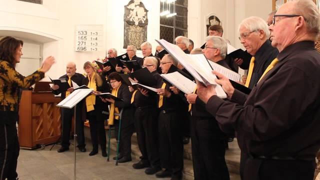 Hereinspaziert: Chorkonzert Chor Schenkenbergertal und Männerchor Bözen
