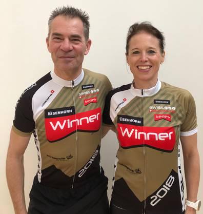 Aeneas und Anita Appius, Sieger der Swiss Duathlon Serie 2018.