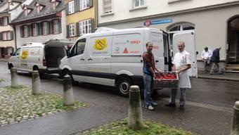 Die Schweizer Tafel findet: «Lieber essen als wegwerfen.»  zvg