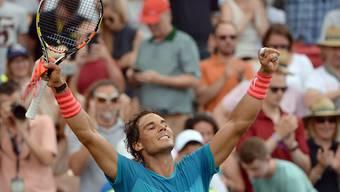Starker Start in die Rasensaison: Rafael Nadal