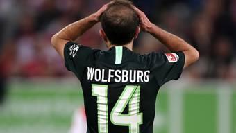 Admir Mehmedi traf zum 1:1 für Wolfsburg