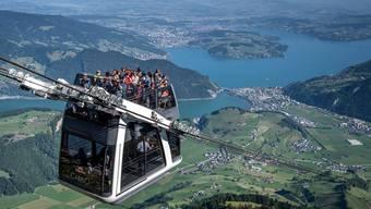 Ab 8. Juni dürften Bergbahnen wie die Cabrio-Gondel aufs Stanserhorn wieder fahren.