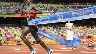 Olympiasieger Samuel Wanjiru ist noch immer verletzt