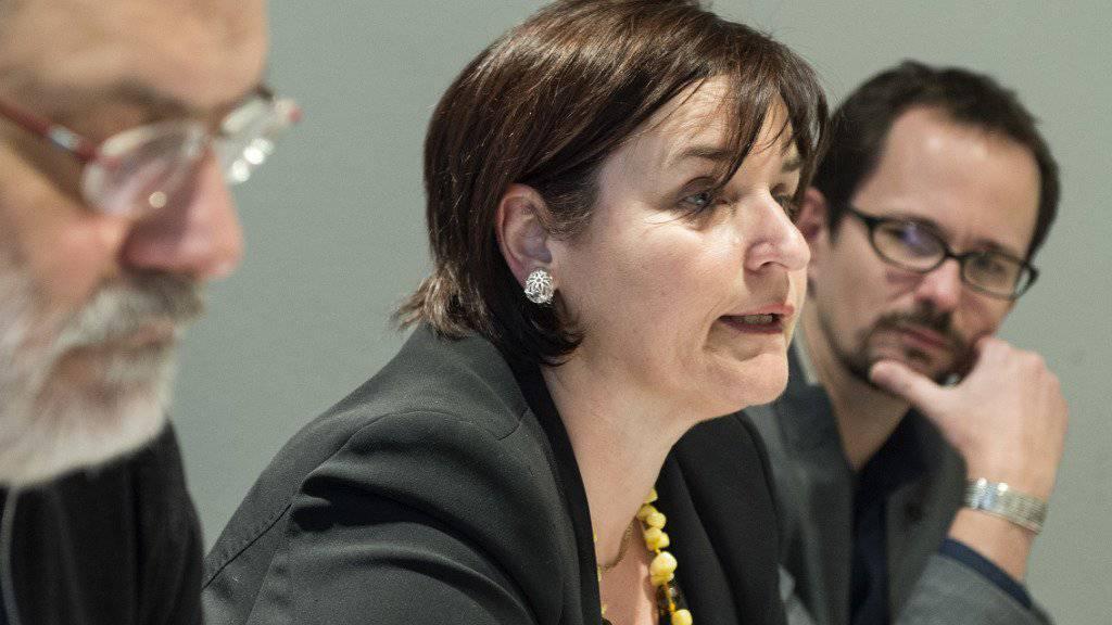 Marina Carobbio, Präsidentin des Mieterinnen- und Mieterverbandes, sagt den hohen Mieten den Kampf an. Der Verband fordert mit einer Initiative bezahlbare Wohnungen. (Archivbild)