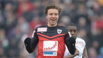 Mart Lieder will mit dem FC Aarau noch öfter jubeln.