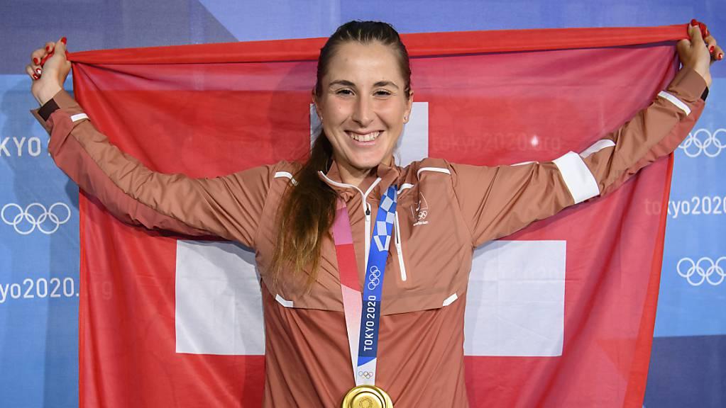 Bei den Frauen ist ein starkes Schweizer Trio am Start: Olympiasiegerin Belinda Bencic ist als Nummer 8 gesetzt