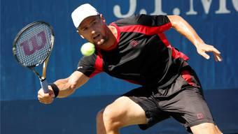 Lichtblick: Marco Chiudinelli kämpfte sich an den US Open nach drei erfolgreichen Qualifikationsspielen in die zweite Runde vor.Keystone