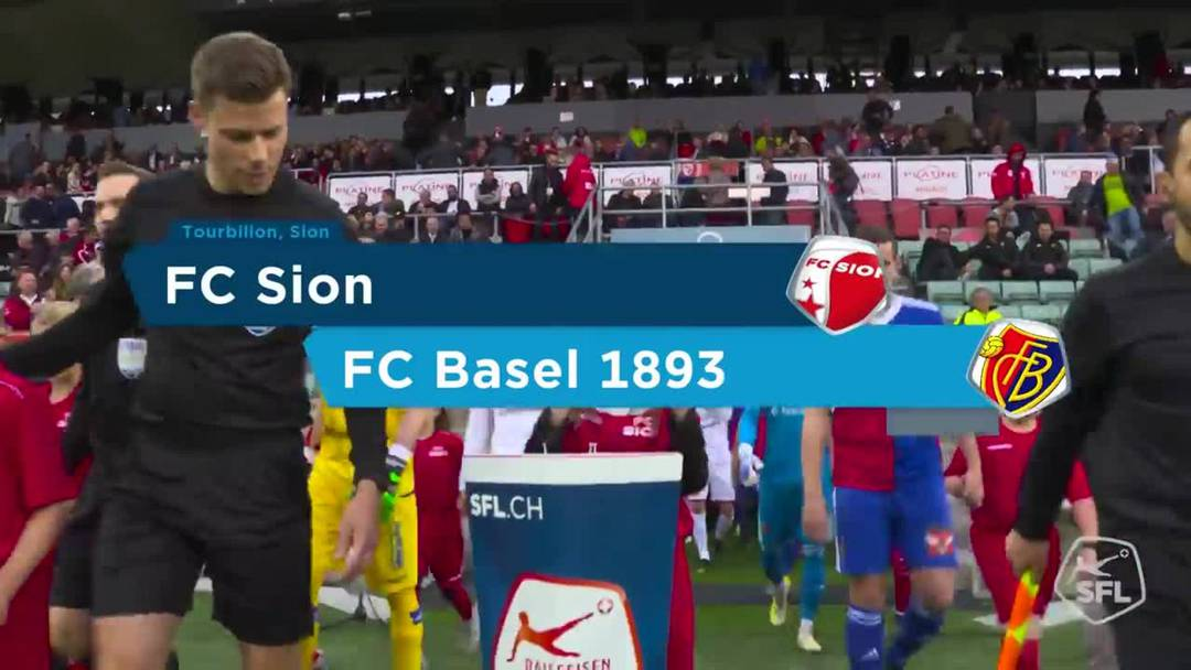 Highlights FCB - Sion.