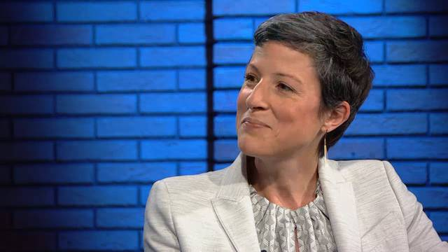 Talk Täglich: Badener Stadtammann-Kandidatin Sandra Kohler erklärt, wieso sie antritt.