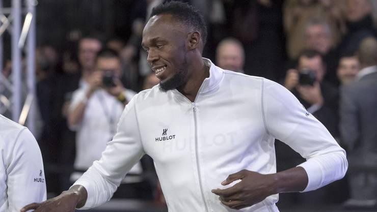Usain Bolt lässt alle hinter sich.