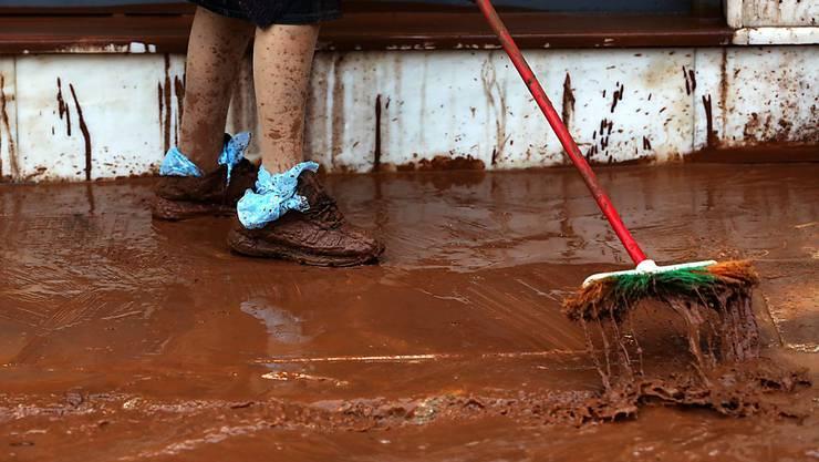 Ein Herbststurm sorgte in mehreren Teilen Nordgriechenlands für Überschwemmungen. (Symbolbild)