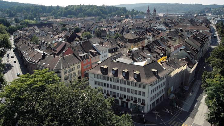 Stadt Winterthur aus der Luft. (Archiv)