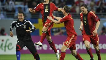 Deutschlands Mezut Özil, einer der Torschützen