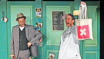 Das Duo Strohmann-Kauz scherzte zu Beginn noch über Corona. Die Witze wurden aber immer weniger lustig.