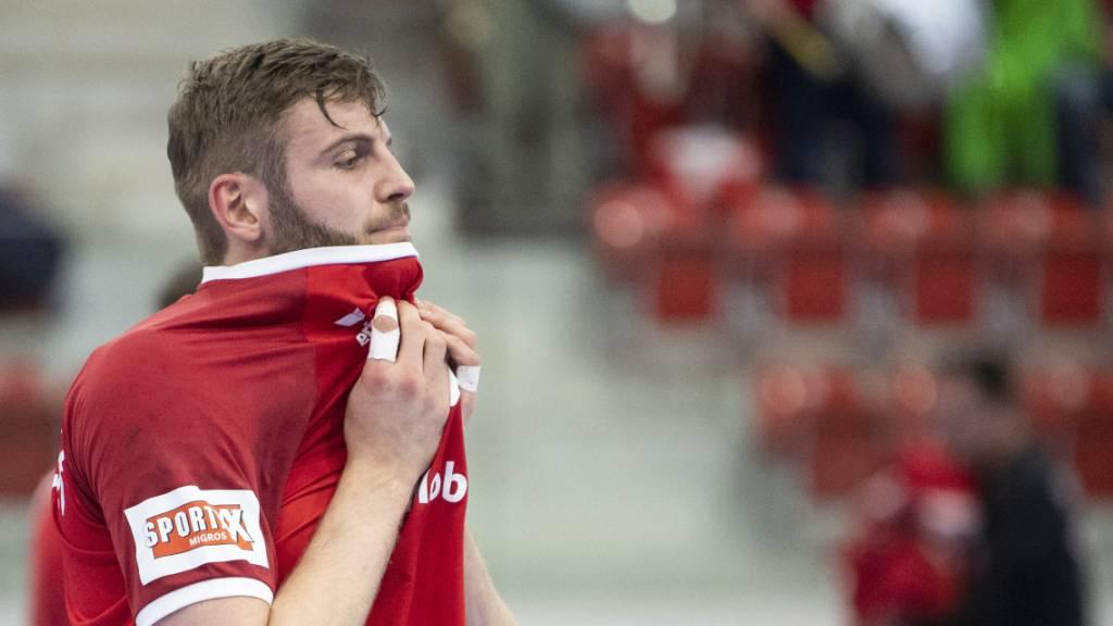 Schweizer Handballer schrammen am Coup vorbei