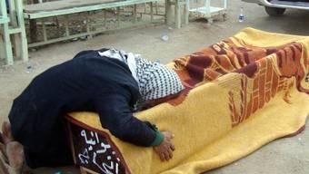 Trauer um ein Anschlagsopfer in Bagdad