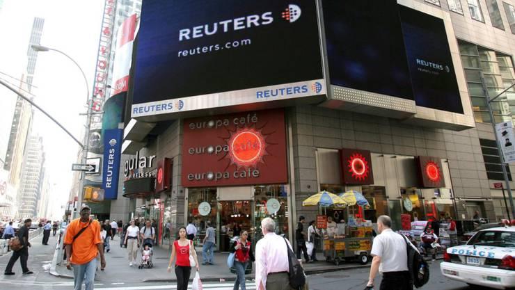 Die Nachrichtenagentur Reuters hat in eigener Sache bekanntgegeben, dass sie Staatsgelder von Grossbritannien angenommen hat, die nicht in Einklang mit den Reuters-Prinzipien gestanden haben. (Symbolbild)