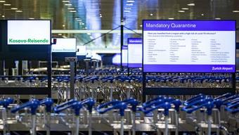 Die Flughafen Zürich AG geht anders als im Sommer nicht mehr von einer Erholung auf Ende Jahr aus.