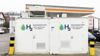 Im Vergleich zu anderen Kantonen sind die Bauauflangen für die  Wasserstoff-Tankstelle Hunzenschwil eher tief.