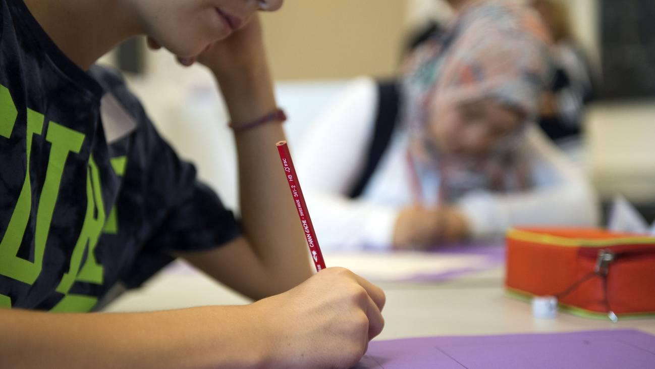 Schule Schüler Abstimmungen Schulfusion Aarau Buchs