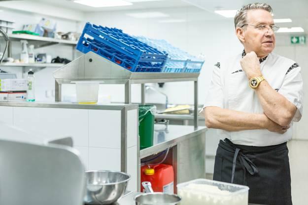 Othmar Angst, Directeur de cuisine.