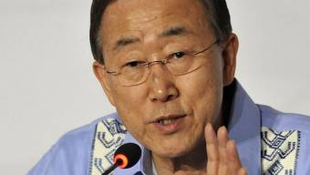 """Ban Ki Moon: """"Die Natur wartet nicht, während wir verhandeln"""""""