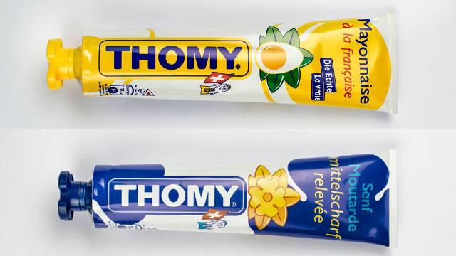 Thomy bezieht seine Tuben bisher von der Firma H. Obrist & Co. AG aus Reinach