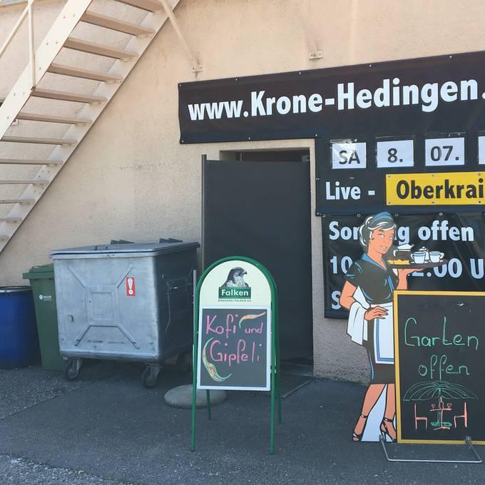 Restaurant Krone - das Hallenstadion von Hedingen
