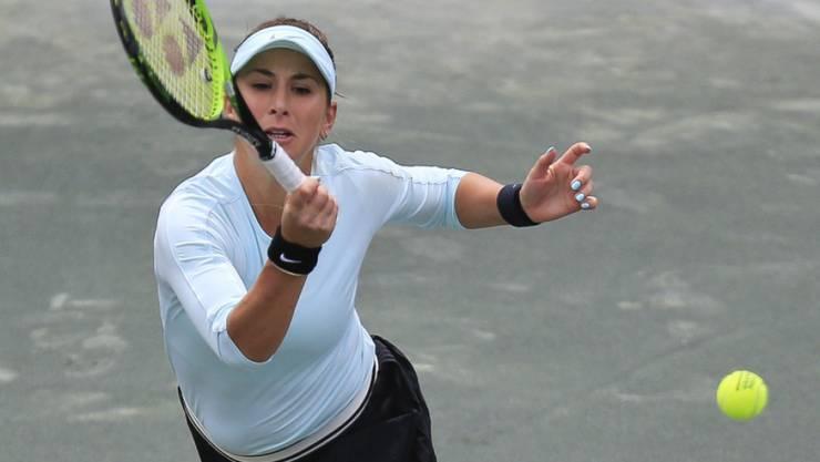 Belinda Bencic erreichte in Charleston ohne Satzverlust die Viertelfinals