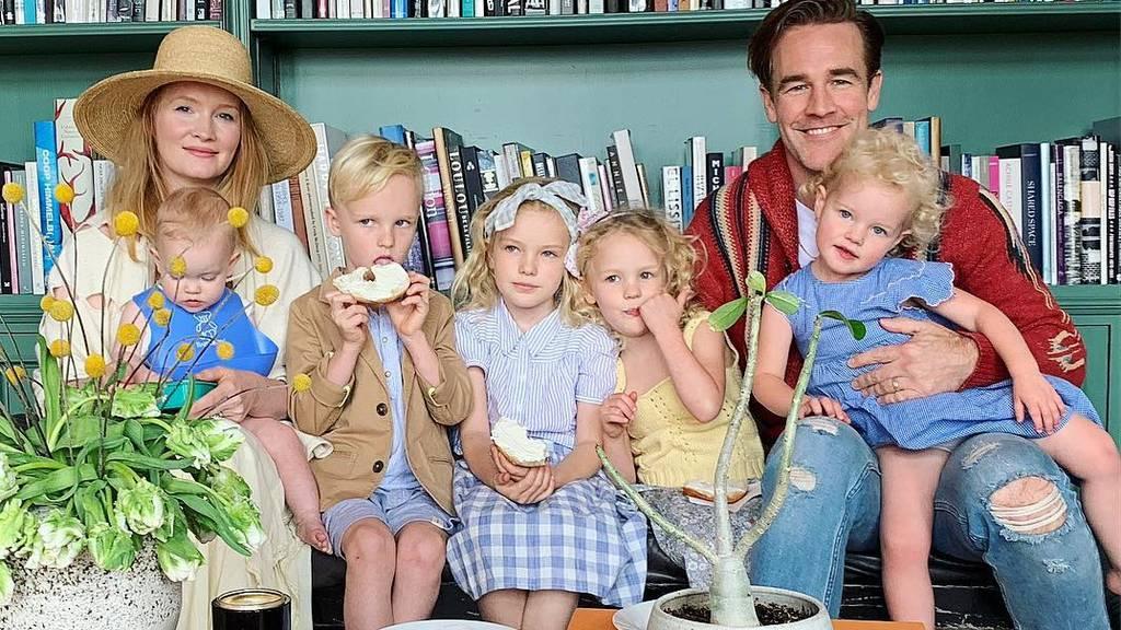 James van der Beek kündigt Baby Nummer 6 an