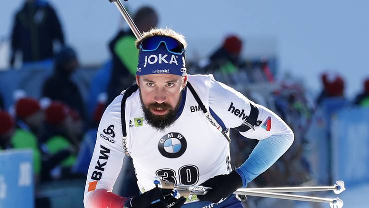 Endlich wieder ein Toprennen: Benjamin Weger