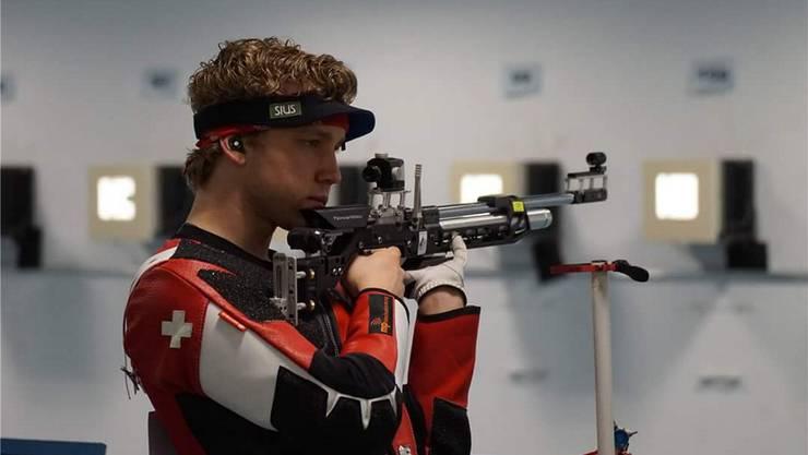 Der 24-jährige Holderbanker Jan Lochbihler hat die Olympischen Spiele 2016 in Rio im Visier.